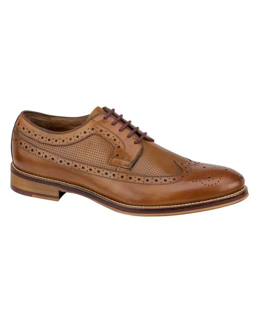 Jos A Bank Conard Wingtip Shoe By Johnston And Murphy In