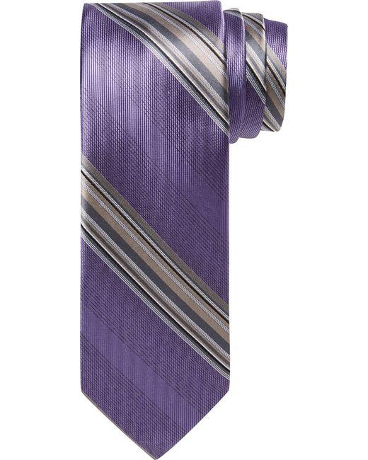 Jos. A. Bank | Purple Joseph Abboud Stripe Tie for Men | Lyst