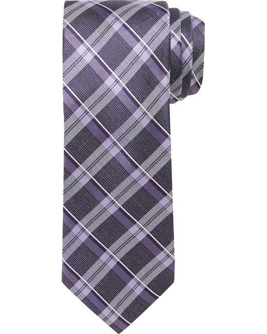 Jos. A. Bank | Purple Joseph Abboud Plaid Tie for Men | Lyst