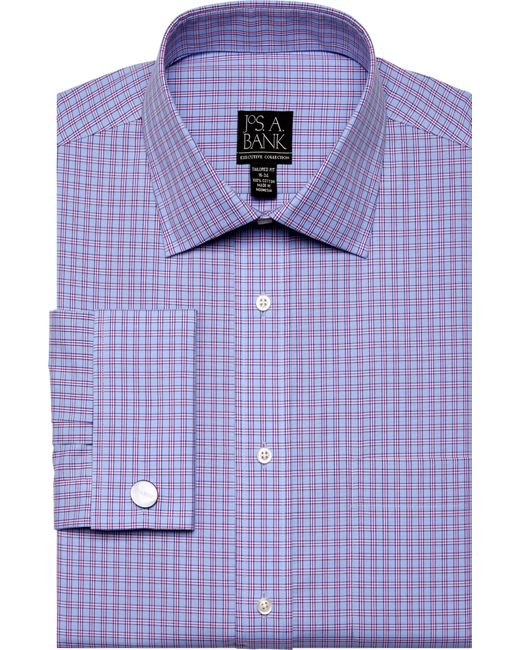 Lyst jos a bank executive collection tailored fit for Joseph banks dress shirts