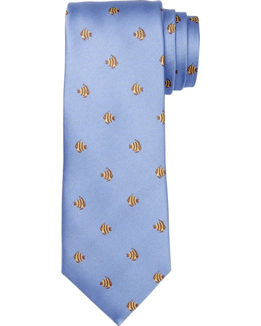 Jos. A. Bank | Blue 1905 Collection Fish Dot Tie for Men | Lyst