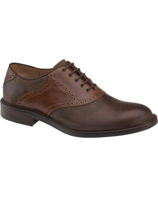Jos. A. Bank | Brown Johnston & Murphy Tabor Saddle Shoes for Men | Lyst
