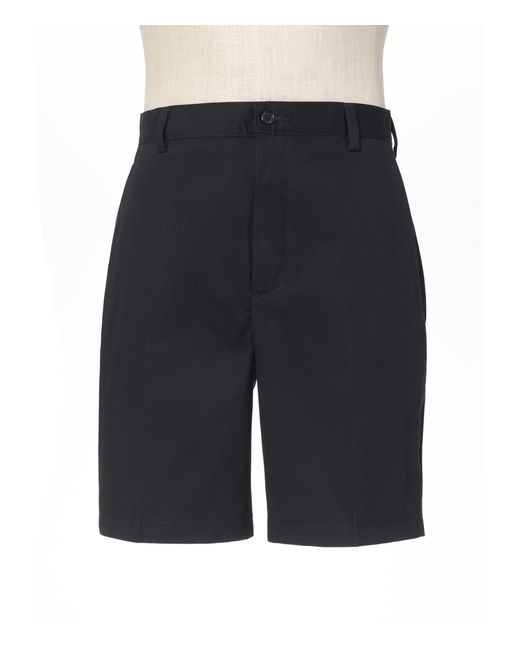 Jos. A. Bank - Black Stays Cool Tailored Fit Flat Front Shorts - Big & Tall for Men - Lyst