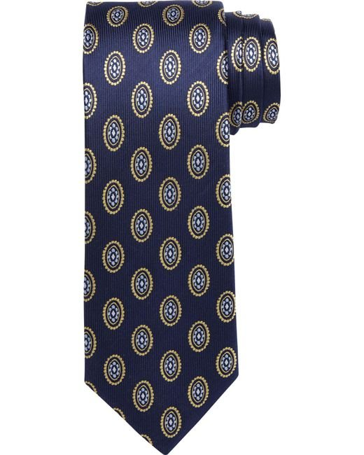 Jos. A. Bank - Purple Executive Collection Oval Medallion Tie Clearance for Men - Lyst