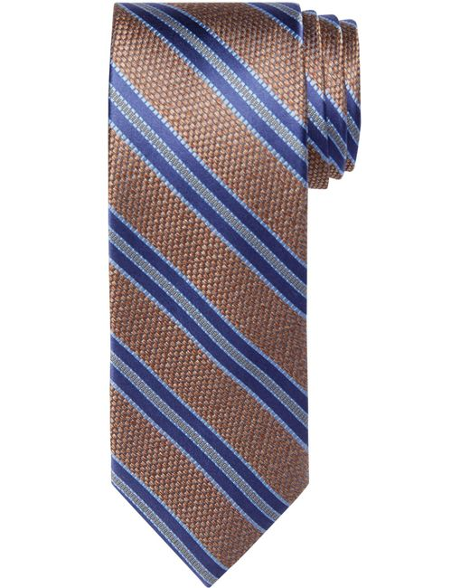 Jos. A. Bank   Blue Reserve Collection Heathered Stripe Tie for Men   Lyst