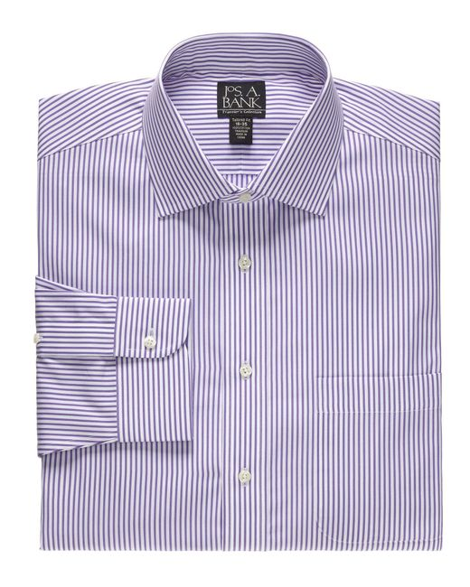Lyst jos a bank traveller collection slim fit spread for Joseph banks dress shirts