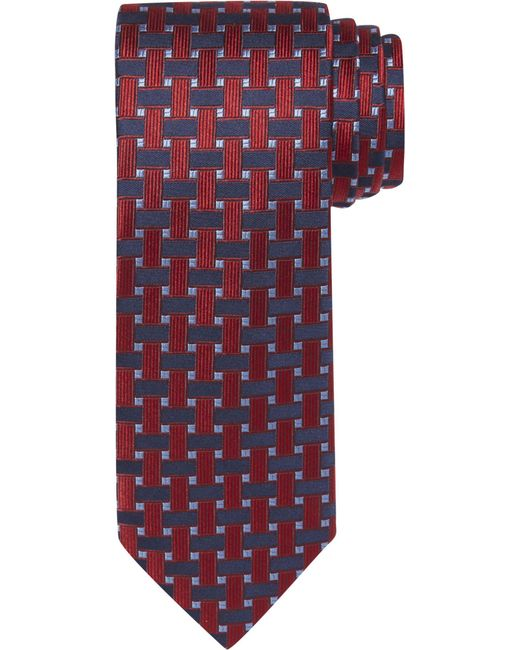 Basket Weaving Supplies Nyc : Jos a bank signature collection basketweave tie in blue