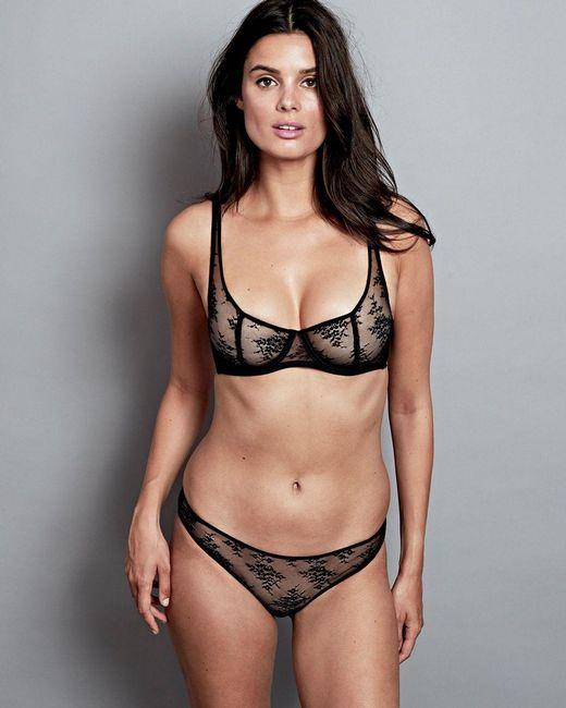 443059063 Journelle Romy Demi Bra in Black - Save 54% - Lyst