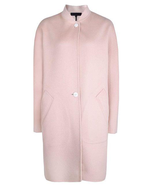 Rag & Bone | Pink Reversible Wool Darwen Coat | Lyst