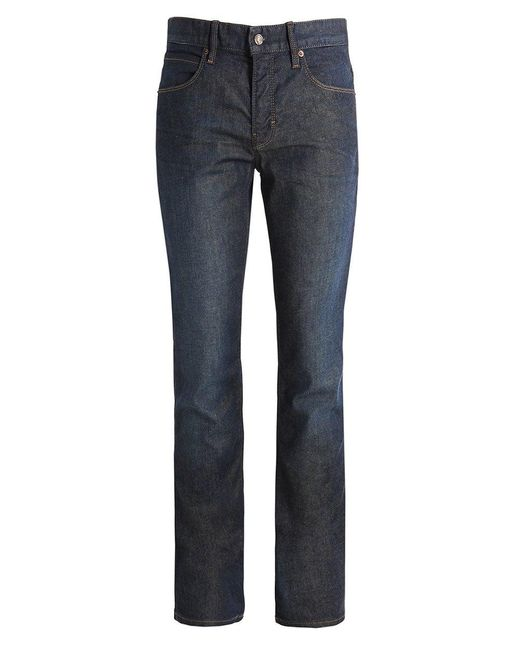 BOSS Orange | Blue Slim Fit Mid Wash Jeans for Men | Lyst