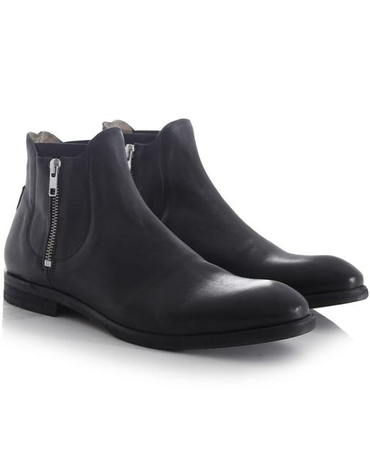 H by Hudson   Multicolor Black Mitchell Boots for Men   Lyst