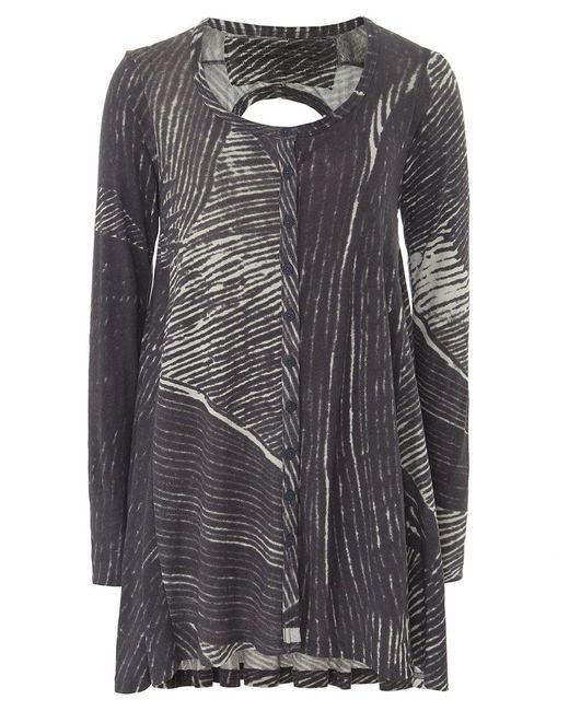 Rundholz | Gray Jersey Scribble Print Jacket | Lyst