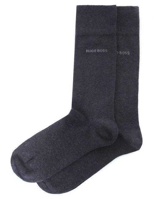 BOSS | Gray Two Pack Of Socks for Men | Lyst