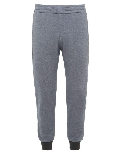 PS by Paul Smith | Gray Stretch Jersey Sweatpants for Men | Lyst
