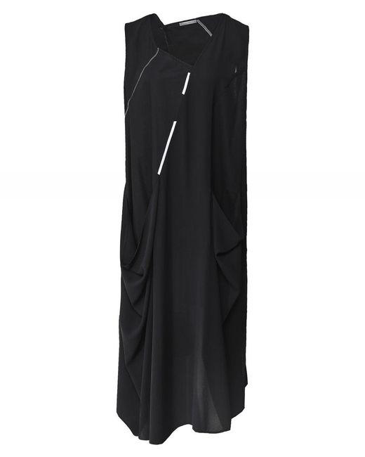 Crea Concept - Black Technical Sleeveless Dress - Lyst