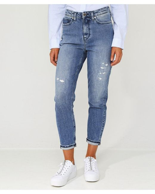 32021050 ... Tommy Hilfiger - Blue Icons Gramercy High Waisted Jeans - Lyst ...