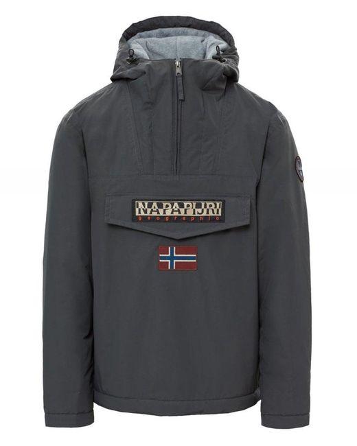 Napapijri - Gray Jacket for Men - Lyst