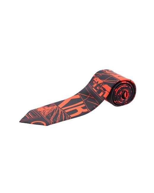 Prada - Comics Red Twill Tie for Men - Lyst