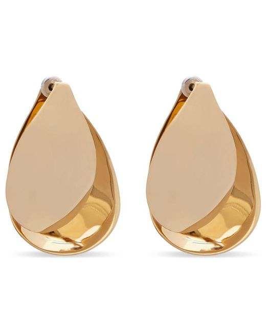 Charlotte Chesnais - Metallic Petal Earrings - Lyst