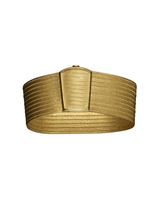 Kirat Young | Metallic Gold Cuff | Lyst