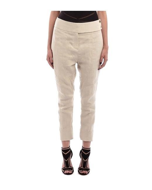 New Beige Flared Linen Pants  Women  Zulily