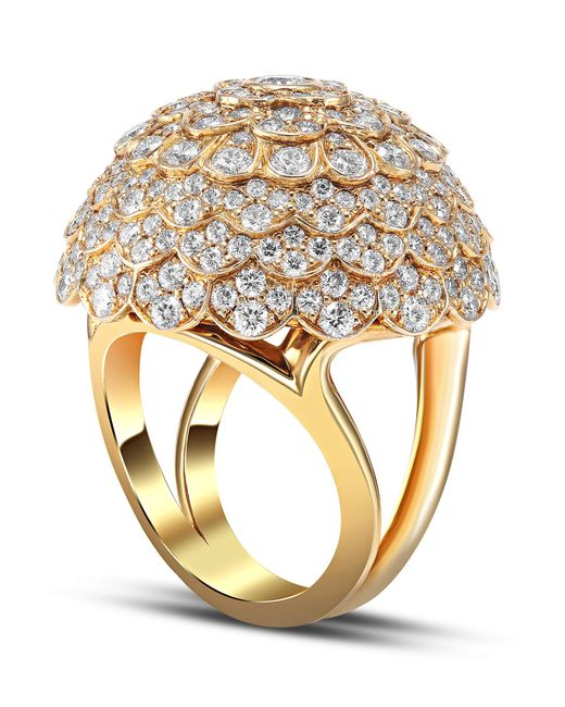 Mimi So - Metallic Jasmine Diamond Ring - Lyst