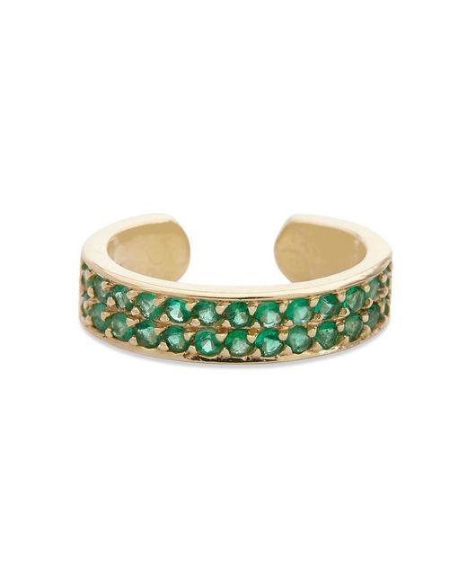 Anita Ko | Metallic Emerald Ear Cuff | Lyst