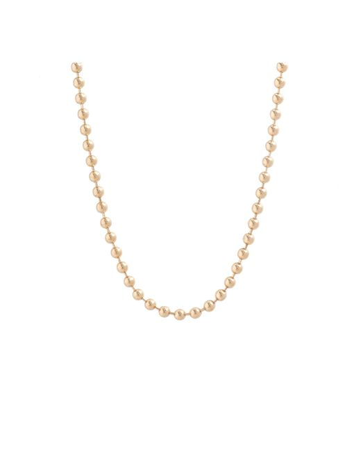"Allison Read Smith | Metallic Gold 30"" Chain Necklace | Lyst"