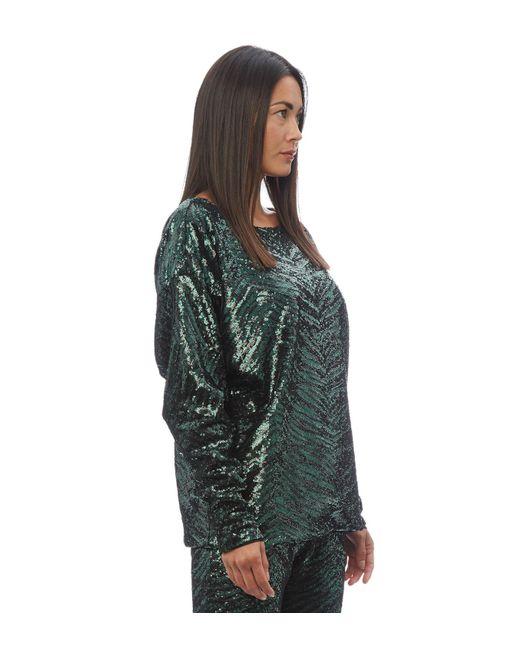 b8219a04b92e7 ... Alexandre Vauthier - Green Sequin Top - Lyst ...