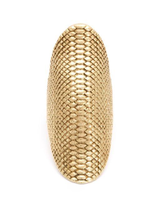 Venyx - Metallic Gold Conda Ring - Lyst