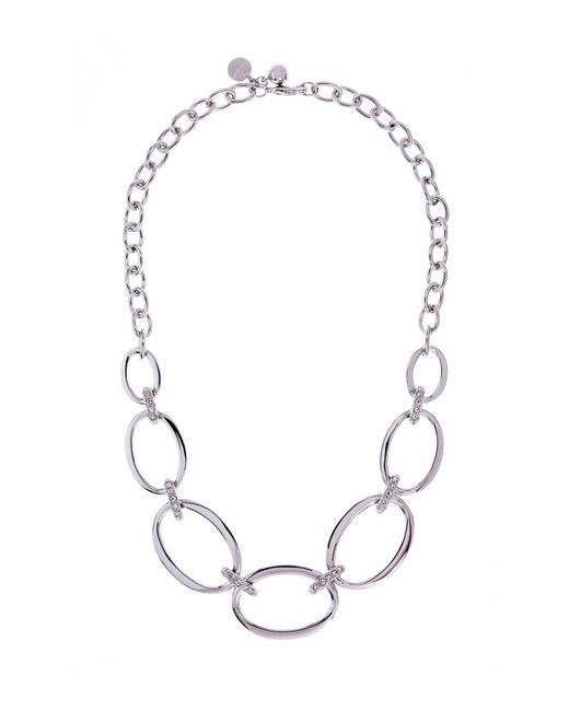 Karen Millen | Multicolor Over Size Chain Necklace - Km | Lyst