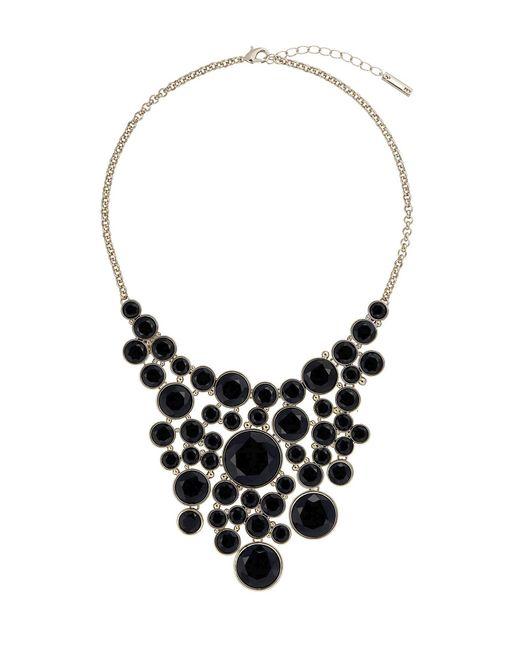 Karen Millen | Metallic Geo Disk Necklace | Lyst
