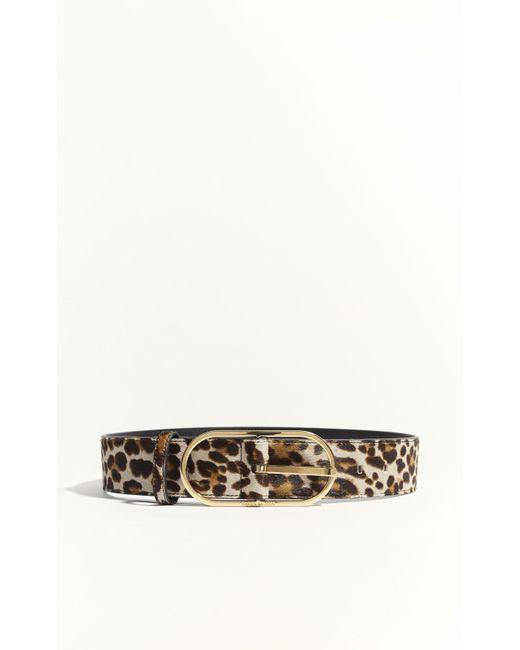Karen Millen - Multicolor Leopard Print Pony Waistbelt - Leopard Print - Lyst