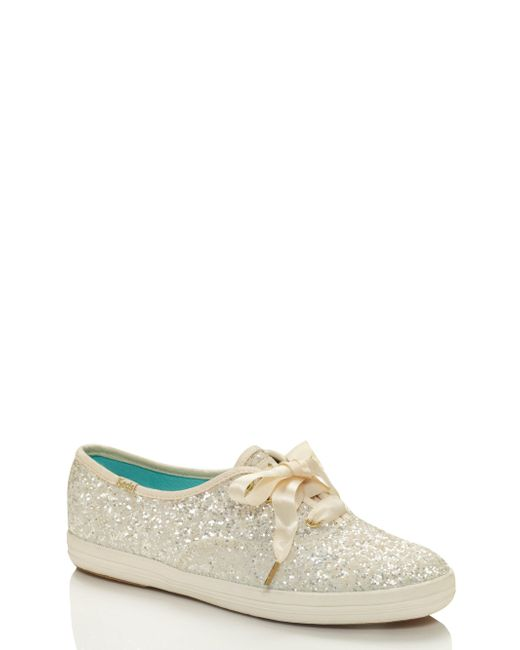 Kate Spade - Multicolor Keds X New York Glitter Sneakers - Lyst