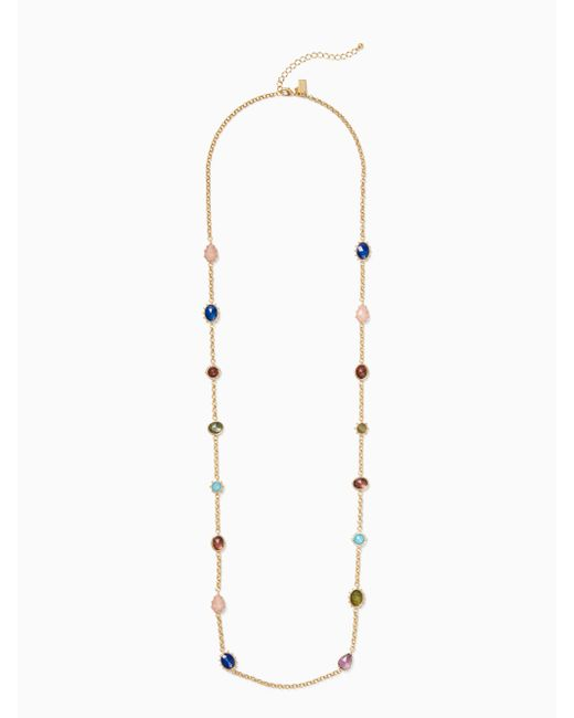 Kate Spade - Multicolor Perfectly Imperfect Scatter Necklace - Lyst