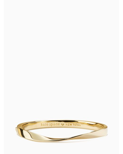 Kate Spade - Multicolor Do The Twist Hinged Bangle - Lyst