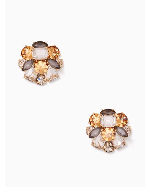 Kate Spade - Multicolor Shine On Cluster Studs - Lyst