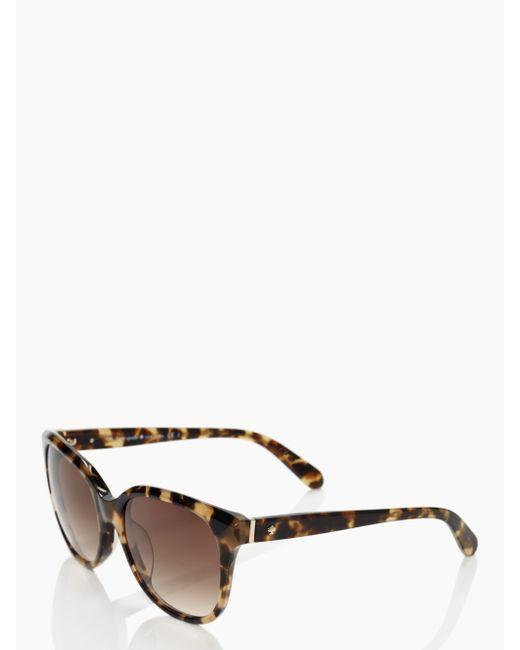 Kate Spade - Multicolor Bayleigh Sunglasses - Lyst