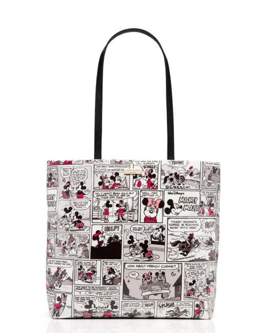 Kate Spade | Multicolor For Minnie Mouse Comic Tote | Lyst