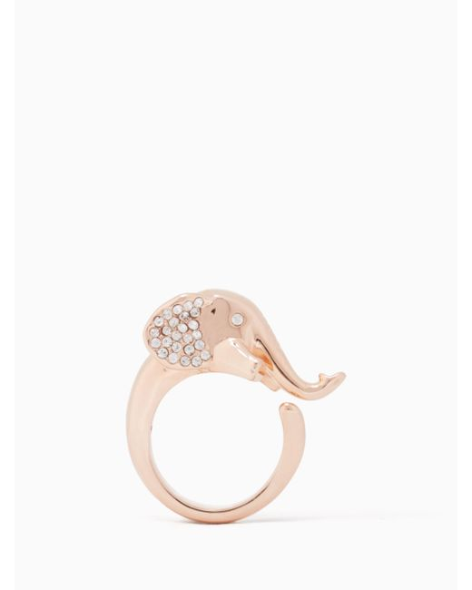 Kate Spade - Multicolor Things We Love Elephant Ring - Lyst