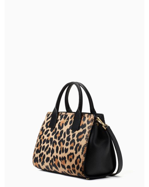Kate Spade Multicolor Dunne Lane Leopard Print Small Lake Lyst