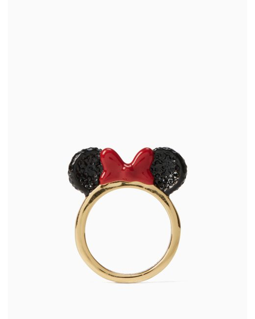 Kate Spade - Red For Minnie Mouse Ring - Lyst