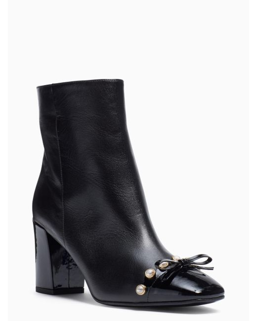 Kate Spade | Black Orton Boots | Lyst