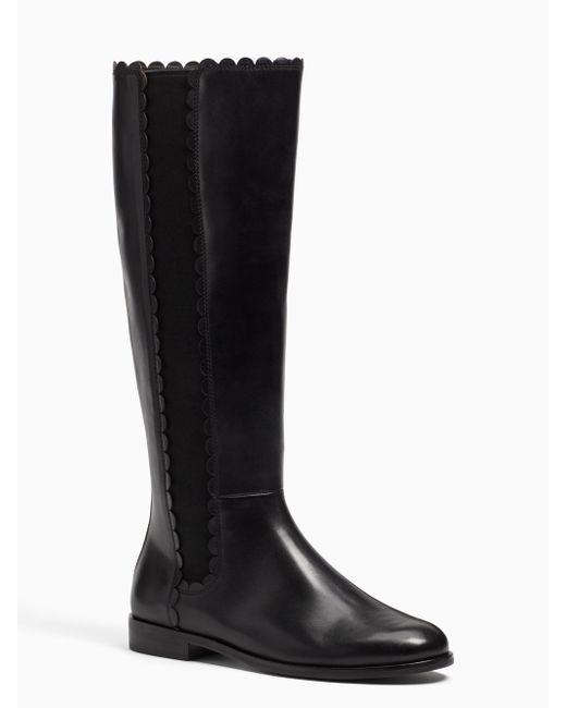 Kate Spade | Black Rayna Boots | Lyst