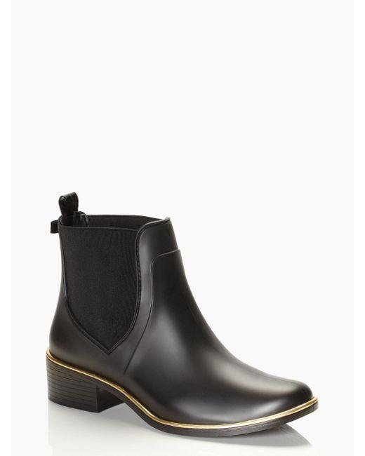 Kate Spade - Black Sedgewick Rain Boots - Lyst