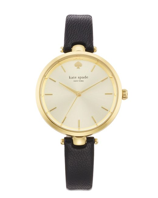 kate spade new york | Natural Holland Skinny Strap Watch | Lyst