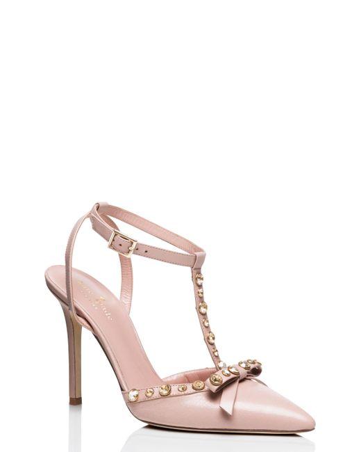 kate spade new york | Pink Lydia Heels | Lyst