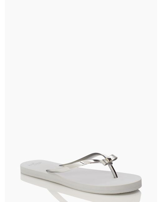 Kate Spade | Metallic Happily Ever After Sandals | Lyst