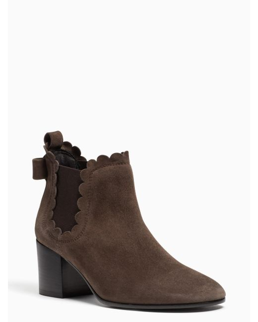 Kate Spade   Brown Garden Boots   Lyst