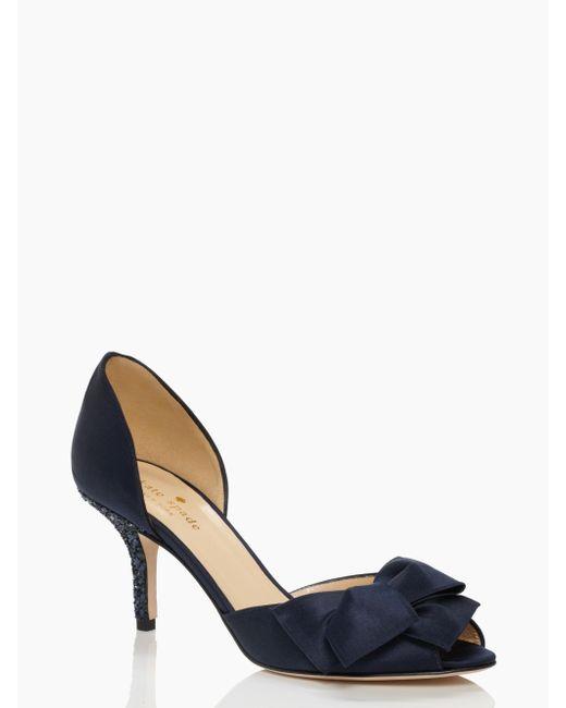 kate spade new york | Blue Sala Heels | Lyst